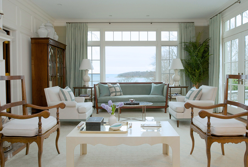 Classic New England Colonial Roughan Interiors