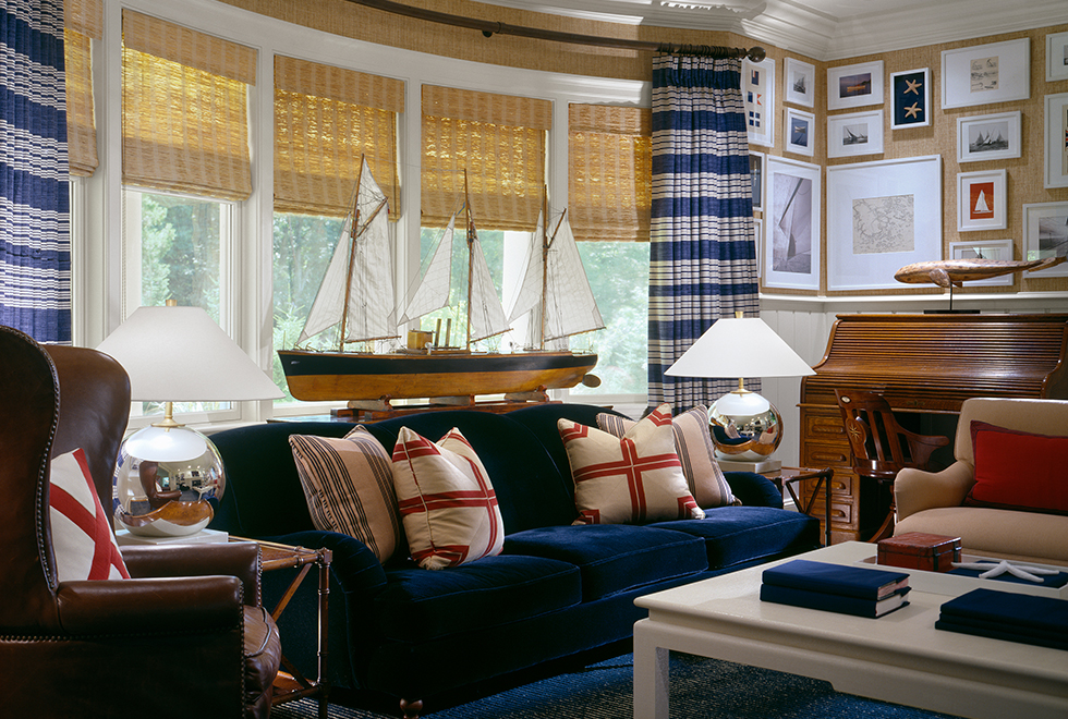 nautical decor ideas living room classic shingle style greenwich ct country projects 22668